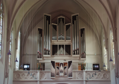 Kleuker Orgel Johanneskirche Saarbrücken